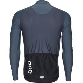 POC Essential Road Fietsshirt lange mouwen Heren grijs/zwart